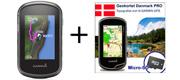 Garmin eTrex 35 Touch inkl. topografisk kortpakke