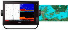 Garmin GPSmap 1222xsv Touch og G3 Søkort