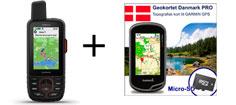 Garmin GPSmap 66i inkl. topografisk kortpakke