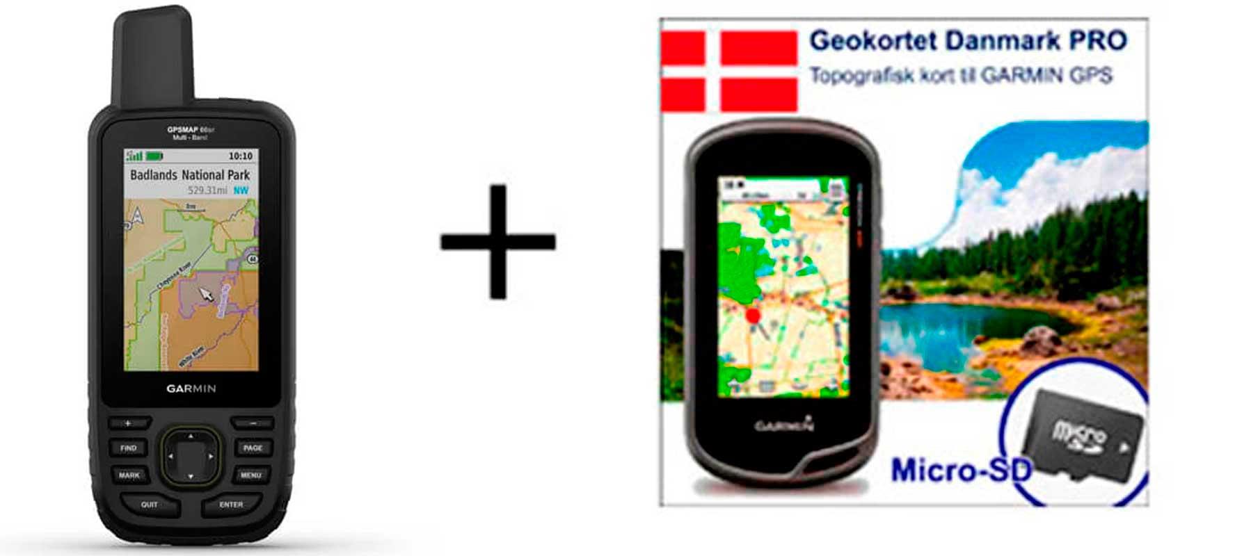 Garmin GPSmap 66sr inkl. topografisk kortpakke