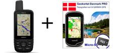 Garmin GPSmap 66st inkl. topografisk kortpakke