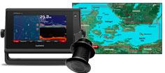 Garmin GPSmap 722xs med HXEU021R og P319
