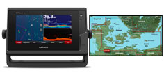 Garmin GPSmap 722xs med G3 søkortkort