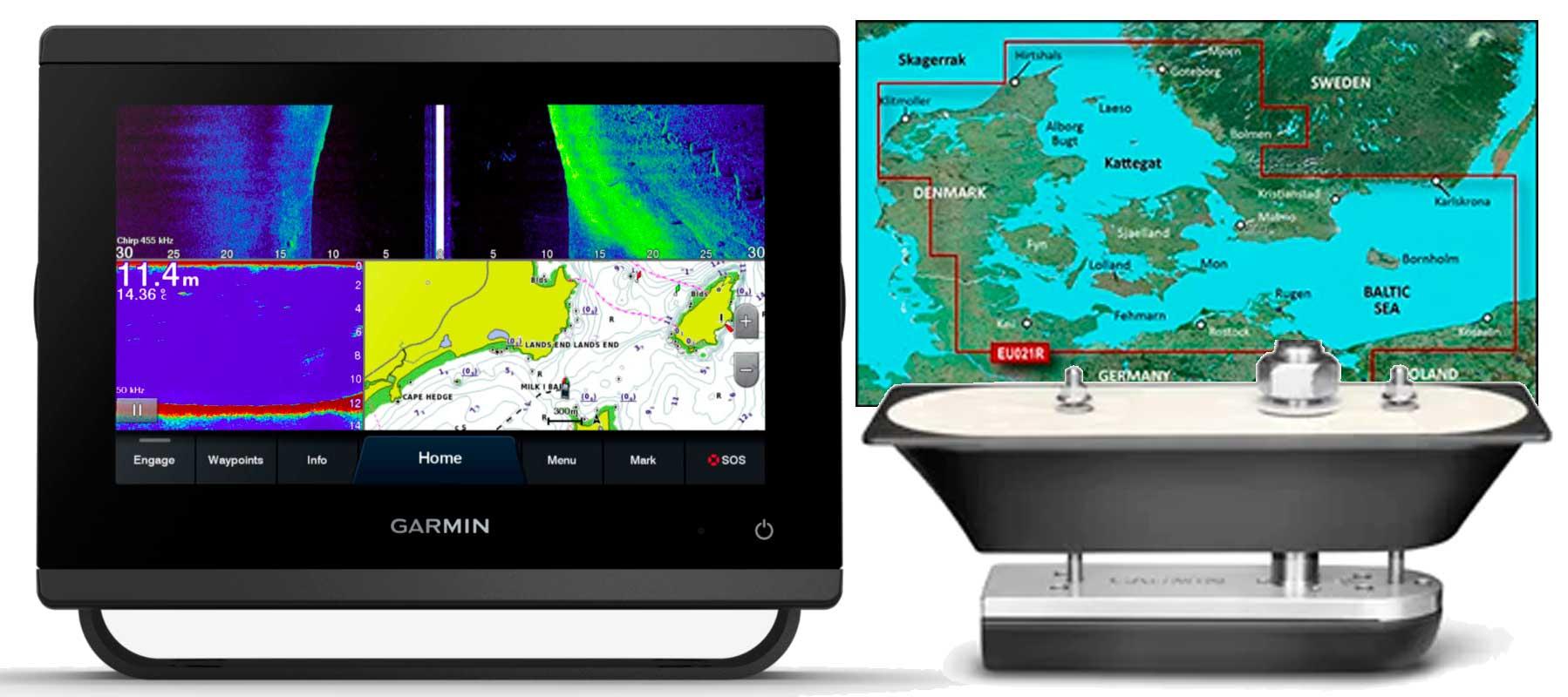 Garmin GPSmap 723xsv, GT51M-TH og HXEU021R