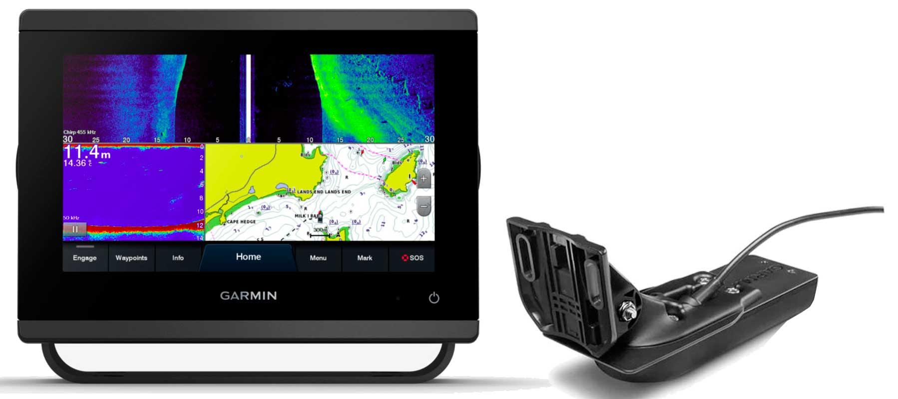 Garmin GPSmap 723xsv med GT56UHD-TM transducer