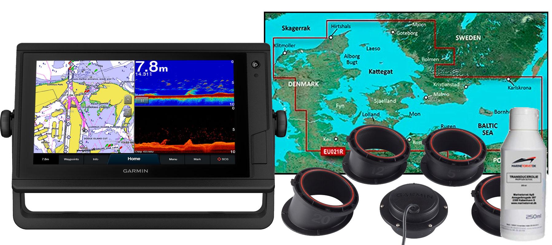 Garmin GPSmap 922xs PLUS, HXEU021R og GT15M-IH