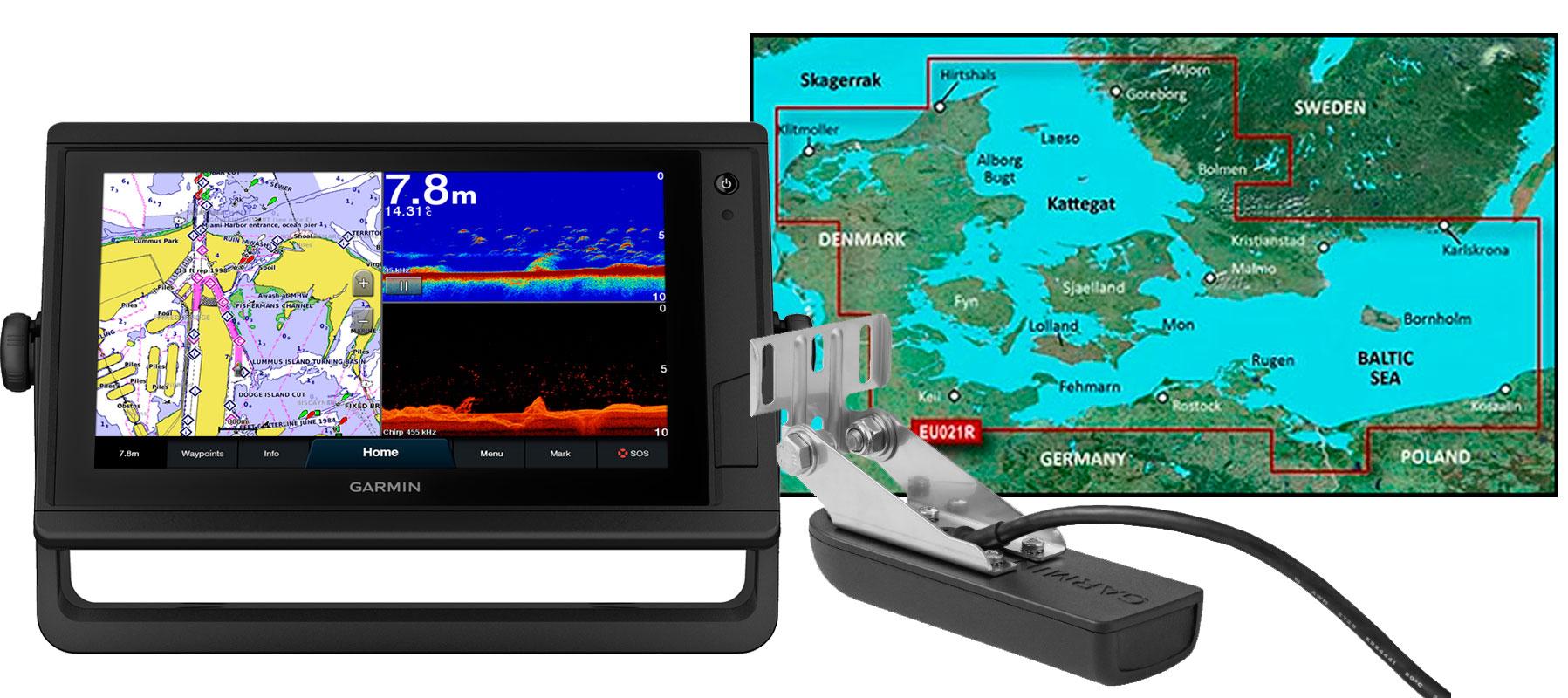 Garmin GPSmap 922xs PLUS, HXEU021R og GT22HW-TM