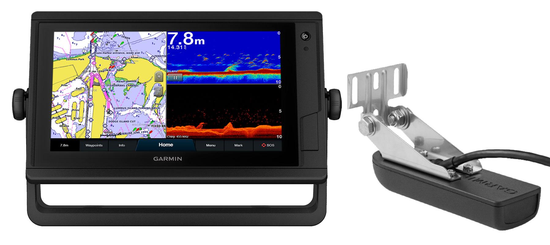 Garmin GPSmap 922xs PLUS og GT22HW transducer
