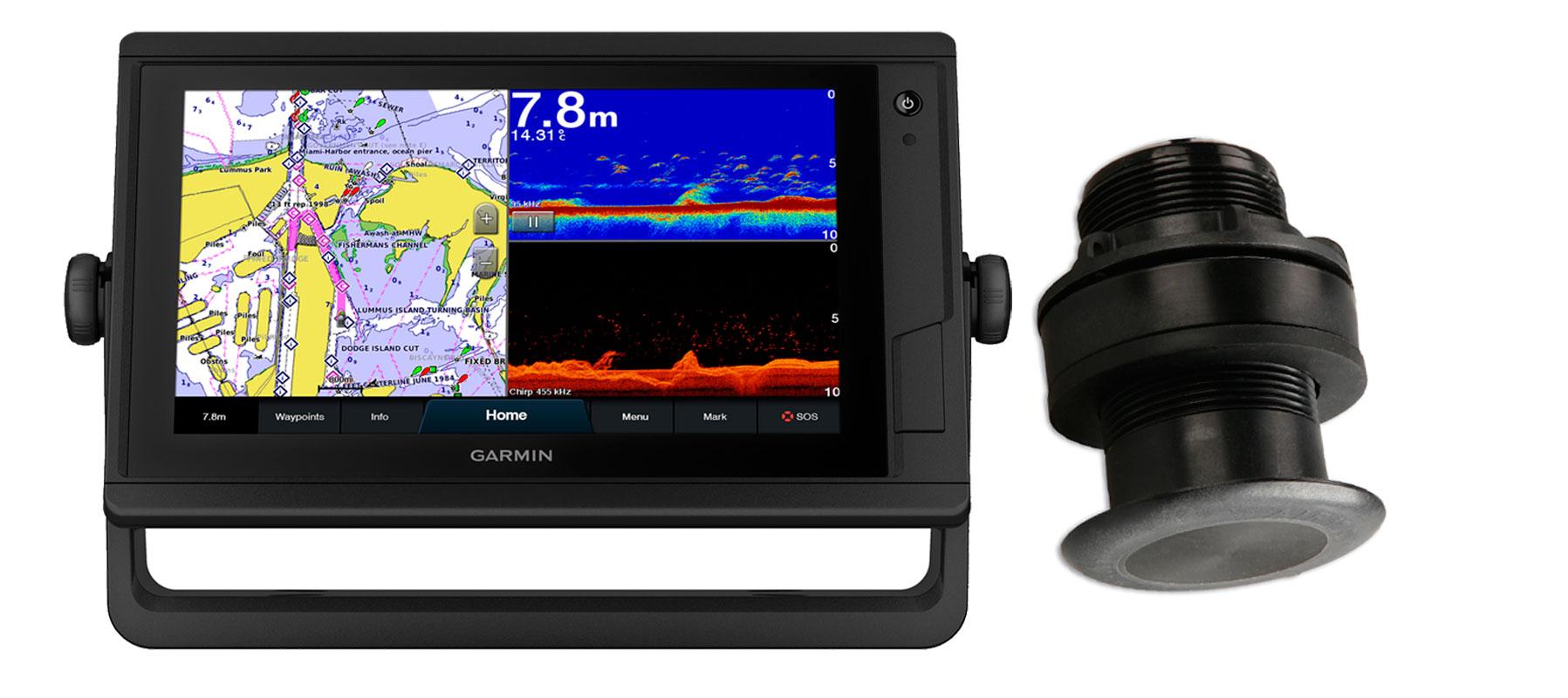 Garmin GPSmap 922xs PLUS og P319 transducer