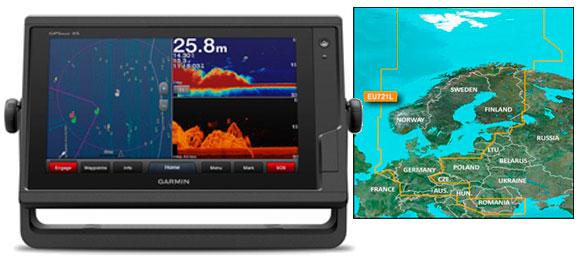 Garmin GPSmap 922xs med VEU721L søkortkort