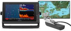 Garmin GPSmap 922xs med HXEU021R og GT22HW-TM