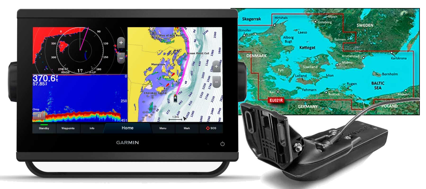Garmin GPSmap 923xsv, GT56UHD-TM og HXEU021R
