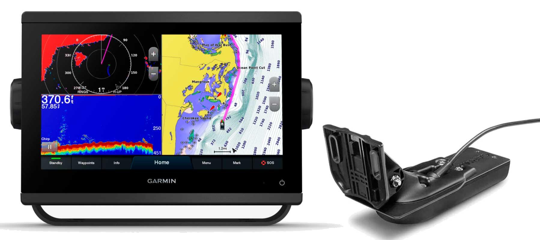 Garmin GPSmap 923xsv med GT56UHD-TM transducer