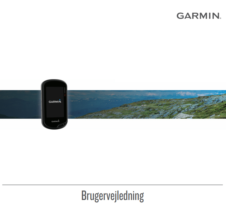 Udprint af manual til Garmin håndholdt GPS