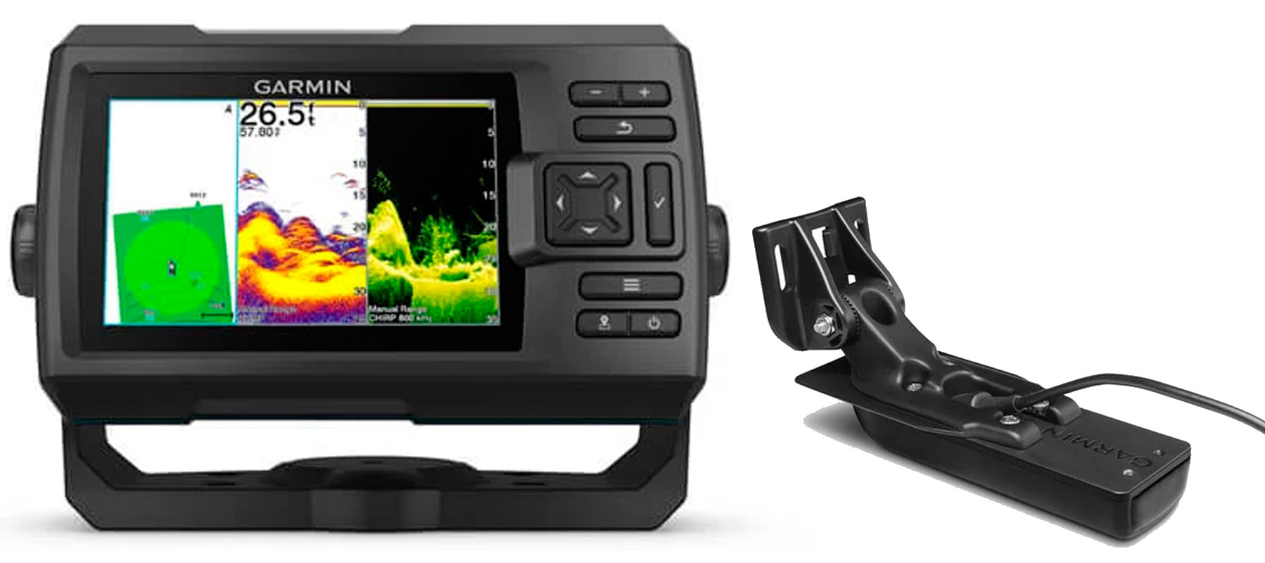 Garmin STRIKER Vivid 5cv inkl. GT20-TM transducer