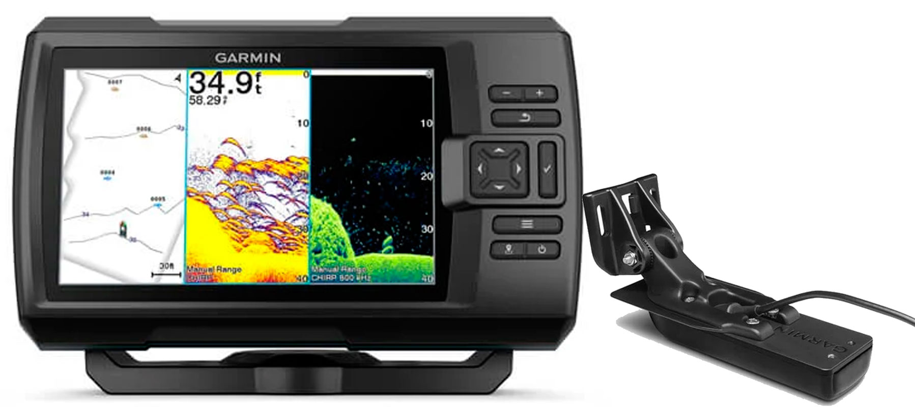 Garmin STRIKER Vivi 7cv inkl. GT20-TM transducer