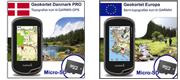 Geokortet Danmark Pro + Geokortet Europa