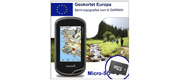 Geokortet Europa på Micro-sd