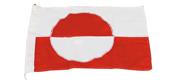 Grønlandsflag 50 cm