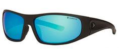 Greys G1 solbriller Matt Carbon/Blue Mirror