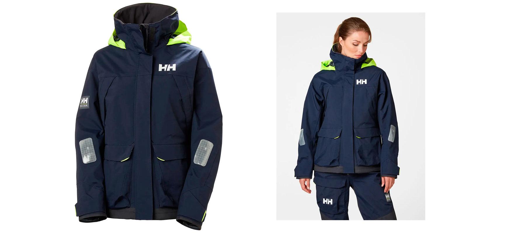 Helly Hansen PIER jakke 34156 Dame Blå str. XS