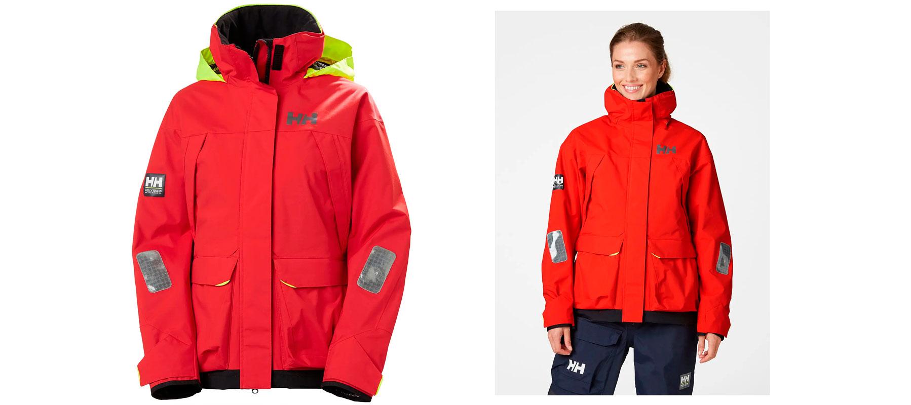 Helly Hansen PIER jakke 34156 Dame Rød str. XS