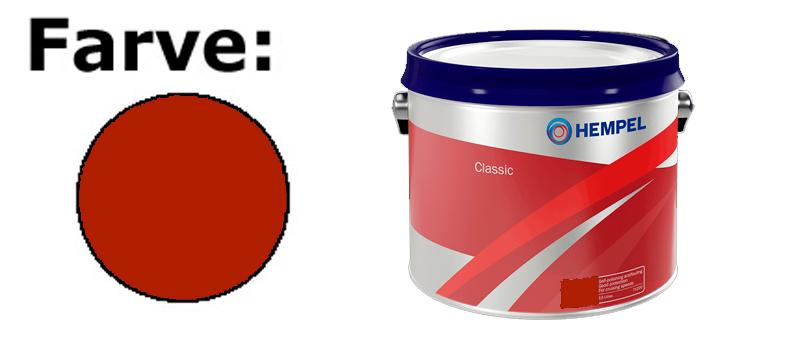 Hempel Basic/Classic 2.5. rødbrun (Red Brown)