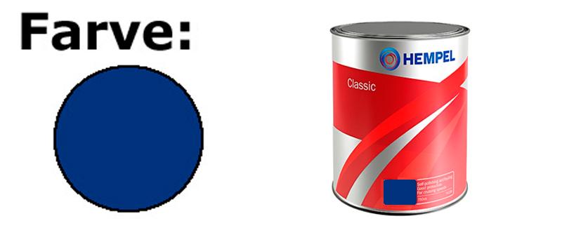 Hempel Basic/Classic 750 ml. Blå (True Blue)