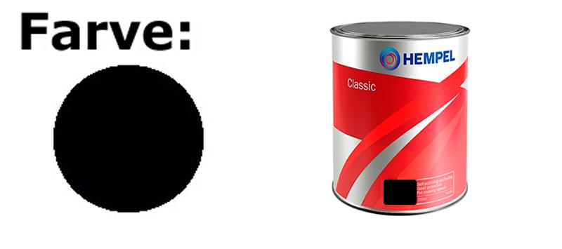 Hempel Basic/Classic 750 ml. Sort (Black)