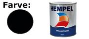 Hempel Brilliant Gloss 750ml Black (19990)