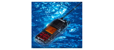 "HM360 Flydende VHF m. DSC, GPS og ""Float-&-Flash"""