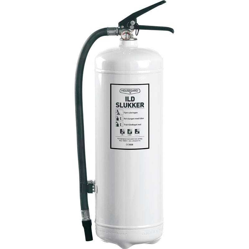 Housegard pulverslukker 2 kg. Hvid