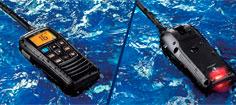 Icom IC-M37 bærbar, vandtæt, flydende 6W VHF