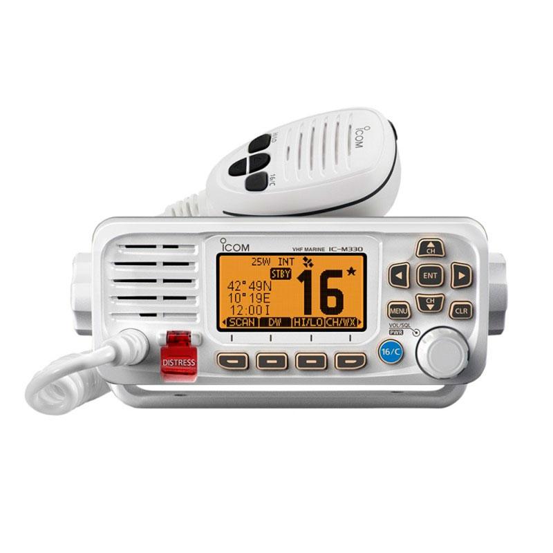 Icom IC-M330 VHF Radio m. DSC-D hvid