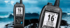 Icom IC-M93D Flydende Håndholdt VHF med GPS