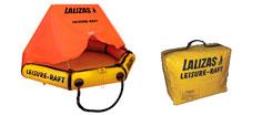 Lalizas 4 pers. letvægt redningsflåde i taske