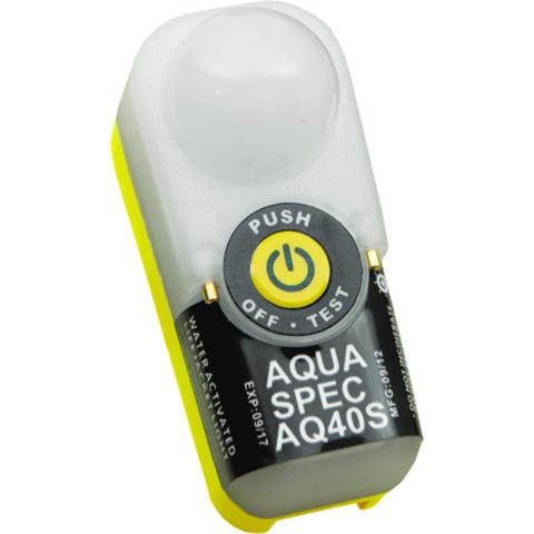 AQUAspec AQ40S SOLAS nødlys for redningsvest