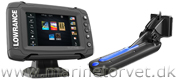 Lowrance Elite-5 Ti med TotalScan transducer