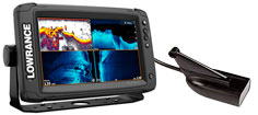 Lowrance Elite-9 Ti2 med HDI transducer