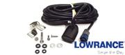 Lowrance/Simrad 83/200 khz hækmonteret transducer