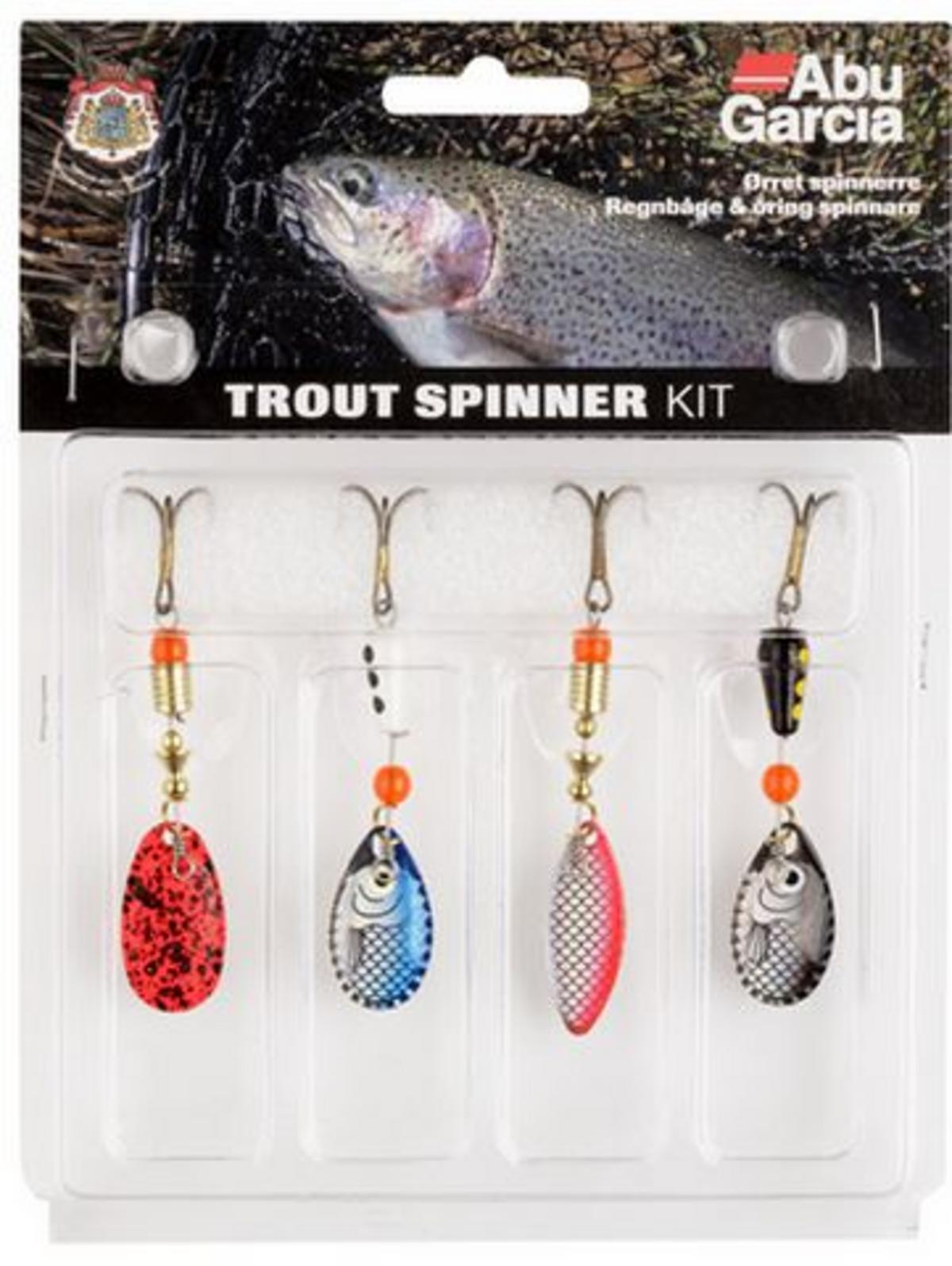 Trout - Kit Spinner 4-pack
