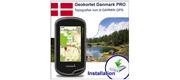 Geokortet Danmark PRO til Garmin GPS installation