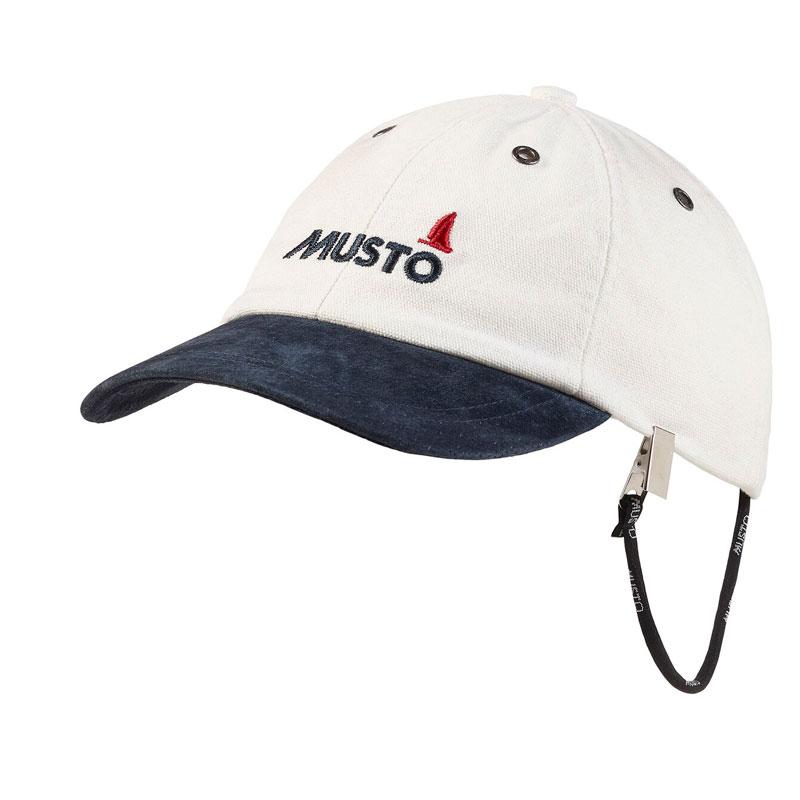 Musto Evolution Original Crew Cap Antique White