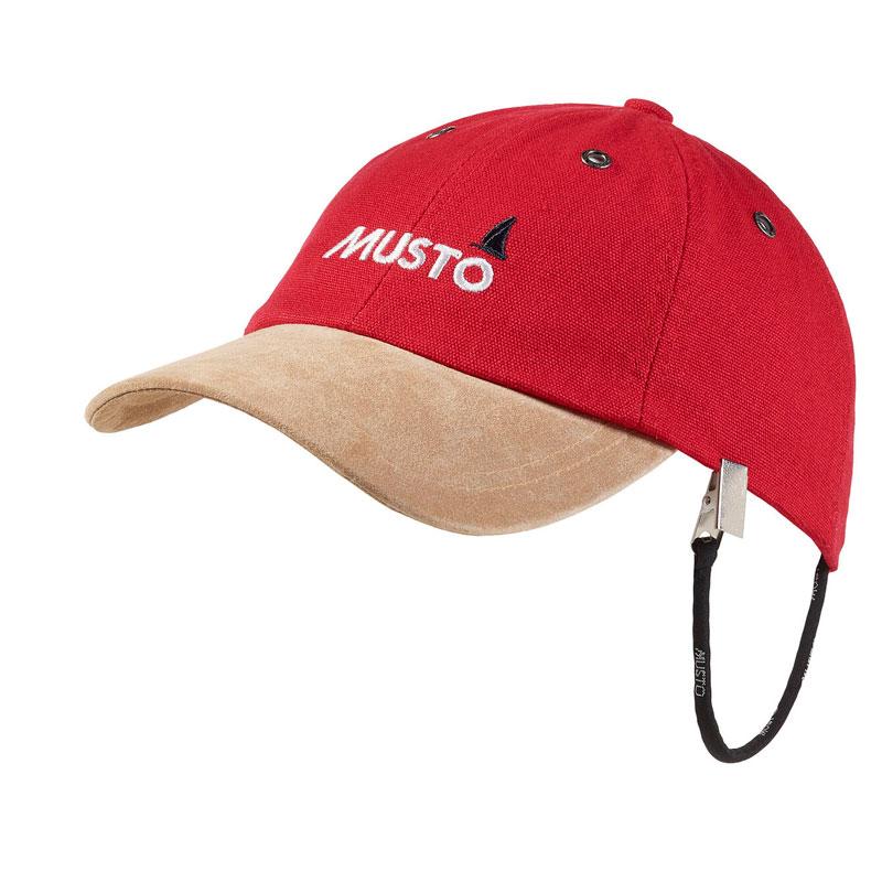 Musto Evolution Original Crew Cap True Red