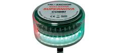 Led lanterne supernova combi anker/tricolour