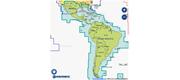 Navionics PLUS 3XG - Central- og Syd Amerika