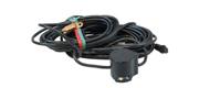 Lowrance transducer med strøm indvendig montering