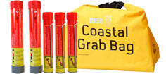 Nødsignaler i vandtæt taske - stor pakke 2024