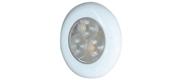 LED 12v vandtæt indbygnings-loftslampe hvidt lys