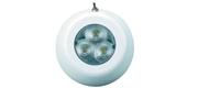 LED 12v vandtæt påbygnings-loftslampe med afbryder